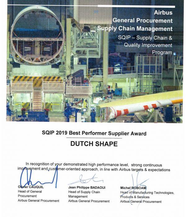 SQIP award 2019
